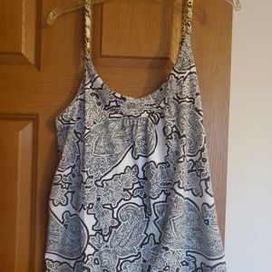 Michael Kors Tank Top Gold Chain Shoulders
